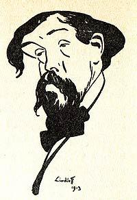Karikatur Claude Debussy